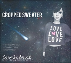 Love Cropped Sweater