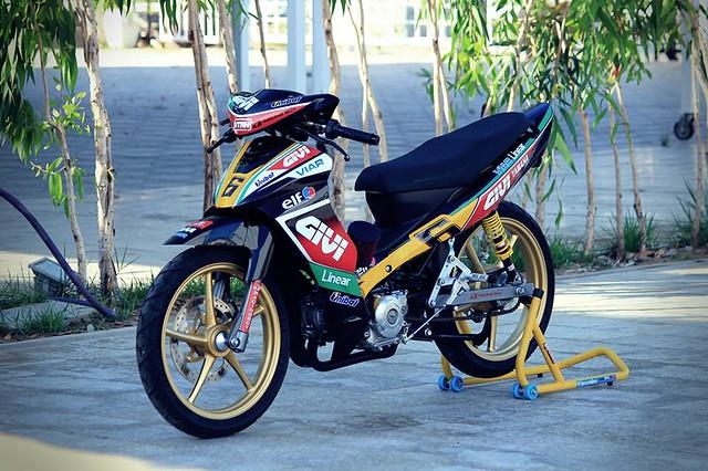 Jupiter độ phiên bản chạy sân Malaysia Cub Prix 2
