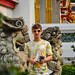 Wat Pho temple (lying Buddha)