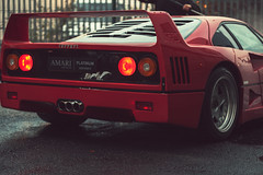 ferrari 288 gto(0.0), lamborghini diablo(0.0), race car(1.0), automobile(1.0), vehicle(1.0), performance car(1.0), automotive design(1.0), ferrari f40(1.0), bumper(1.0), ferrari s.p.a.(1.0), land vehicle(1.0), luxury vehicle(1.0), supercar(1.0), sports car(1.0),