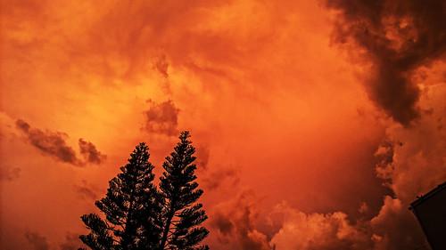 sunset brazil storm brasil grande nokia chuva campo 930 tempestade lumia