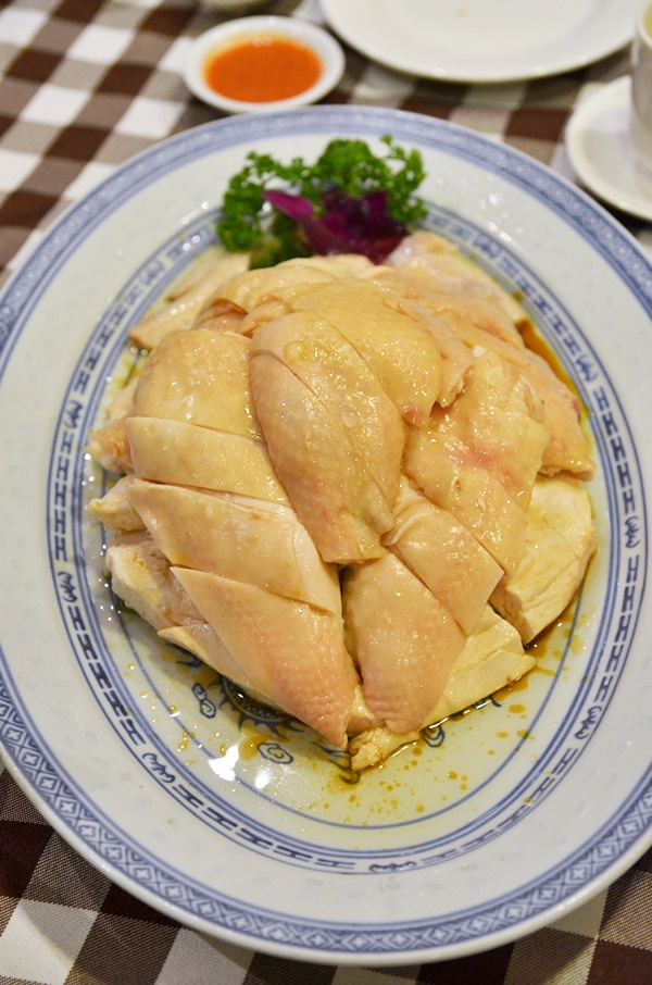 Poached Chicken @ Boon Tong Kee