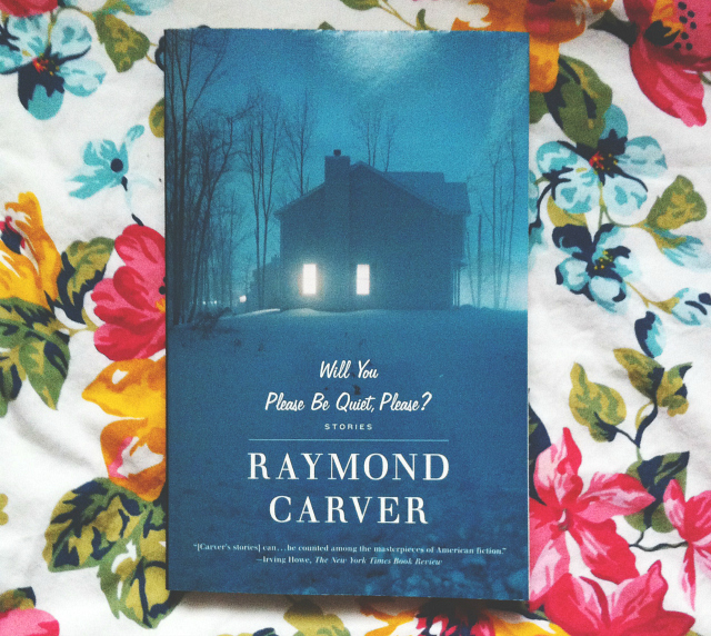 vivatramp will you please be quiet please raymond carver lifestyle book blogger uk bee
