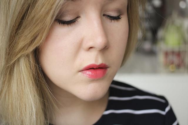 drugstore makeup look