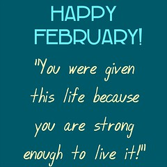 Have a great Sunday! #HappyFebruary!