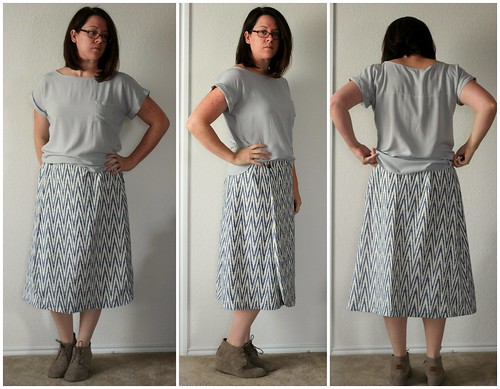 feb 2 vintage pledge ikat skirt pale collage