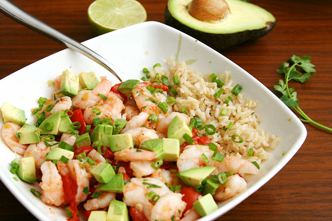 shrimp tomatoes avocado 2