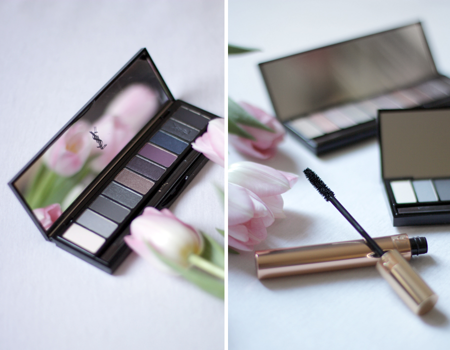 YSL Yves Saint Laurent Beauty COUTURE VARIATION eye shadow palette video tutorial augen make up amu ricarda schernus blog beautyblogger cats & dogs blogger deutschland germany 1