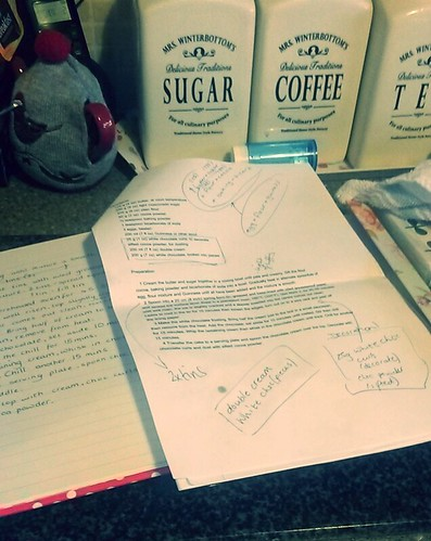Baking notes
