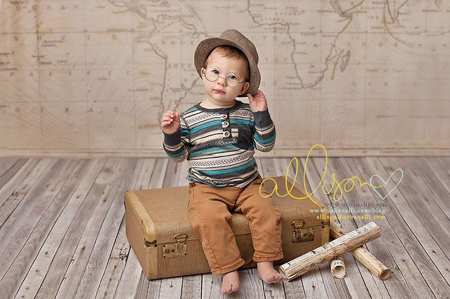 Photography Backdrops for Boys Old Vintage Map www.hsdbackdrops.com