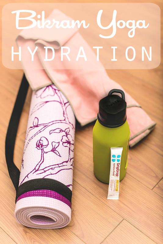 Bikram Yoga hydration #DrinkDripDrop #DripDropHydrates