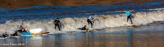 Severn Bore Surfing