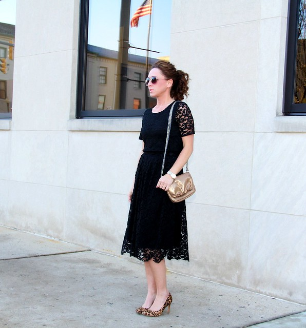 modest little black dress design via Kristina J blog