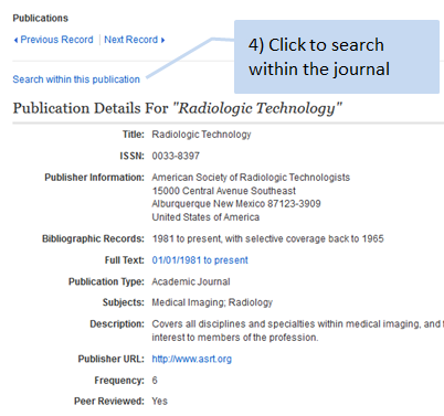 4. Click search within this publication