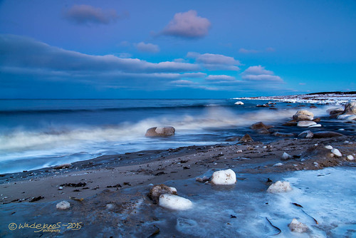 ocean winter sea snow seascape ice beach newfoundland twilight sand nikon waves dusk atlantic anchor brook wade breakers tamron janes d800 tamron2875