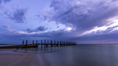 Quindalup Jetty Stormy Sunrise