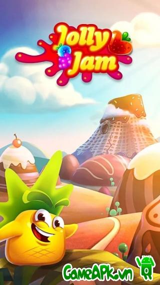 Jolly Jam v3.1 hack full kim cương cho Android