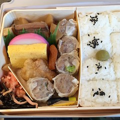 meal(1.0), lunch(1.0), fish(1.0), ekiben(1.0), makunouchi(1.0), food(1.0), dish(1.0), cuisine(1.0), bento(1.0),