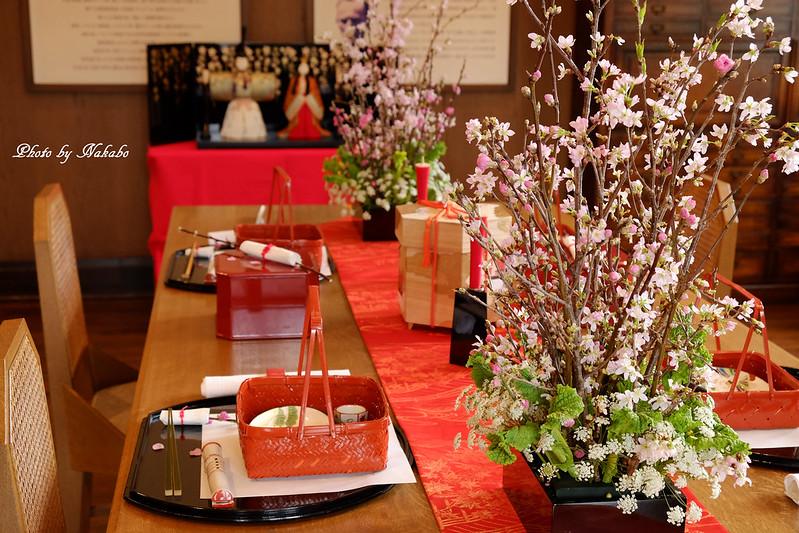 「ひなまつりに囲む昼のテーブル」 by Nakabo