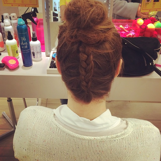 Just had the most fun at @thebraidbar at selfridges. Truly lovely staff and how cool is my hair?!