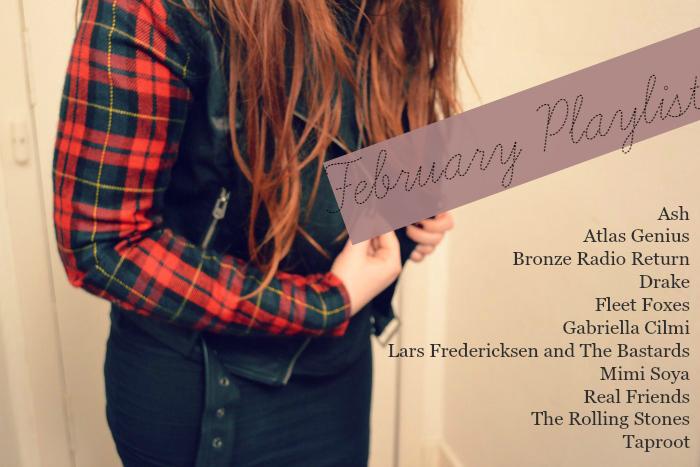 february 2015 playlist