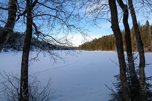 winter lake snow nature finland frozen nationalpark nikon fi kansallispuisto ruovesi helvetinjärvi pirkanmaa d7100