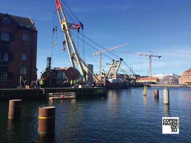 Circle Bridge / Cirkelbroen - Bicycle & Pedestrian Bridge in Copenhagen
