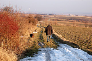 Februarspaziergang bei Großebersdorf