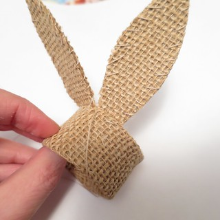 Iron Craft '15 Challenge #4 - Burlap Bunny Ear Napkin Rings