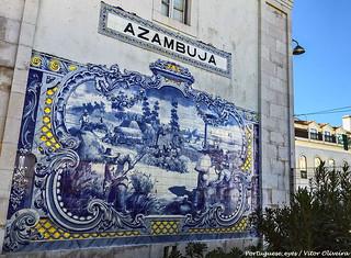 Estação Ferroviária da Azambuja - Portugal