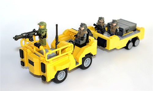 Lego Halo Reach Cart
