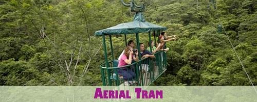 Aerial Tram in Costa Rica Pacific