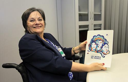 Maria da Penha discute políticas de combate à violência doméstica no CNJ