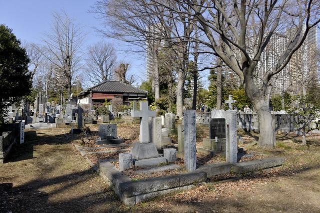 雑司ケ谷霊園 Zōshigaya Cemetery, Tokyo, Japan