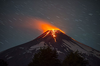 CHILE VOLCANIC ERUPTION