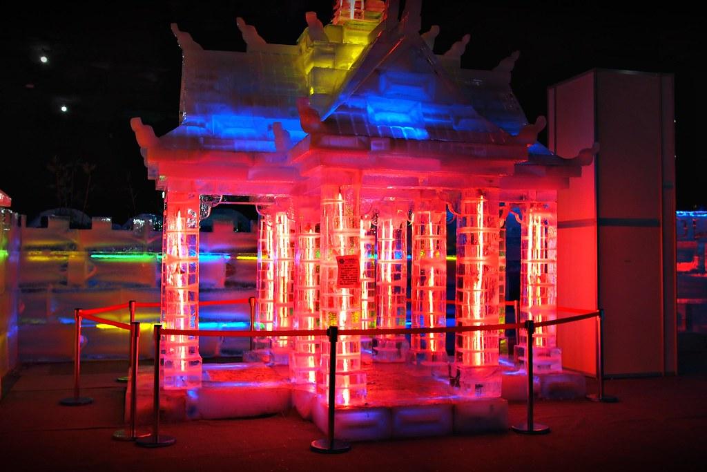 台中高鐵-2015正宗哈爾濱冰冰燈冰雕展-21