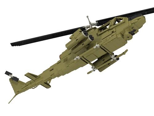AH-1G Huey Cobra front bottom right