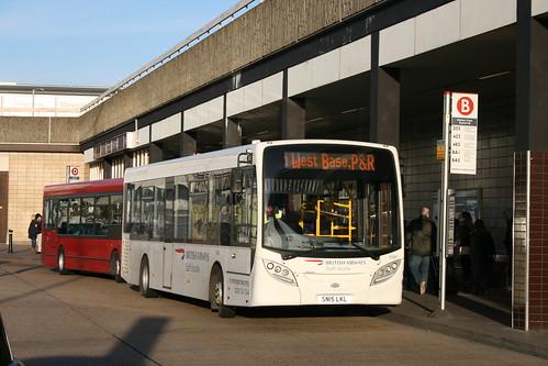 National Express 8366 on BA Park & Ride, Hatton Cross