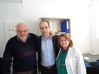Επίσκεψη Κώστα Μπάρκα στο Νοσοκομείο Πρέβεζας