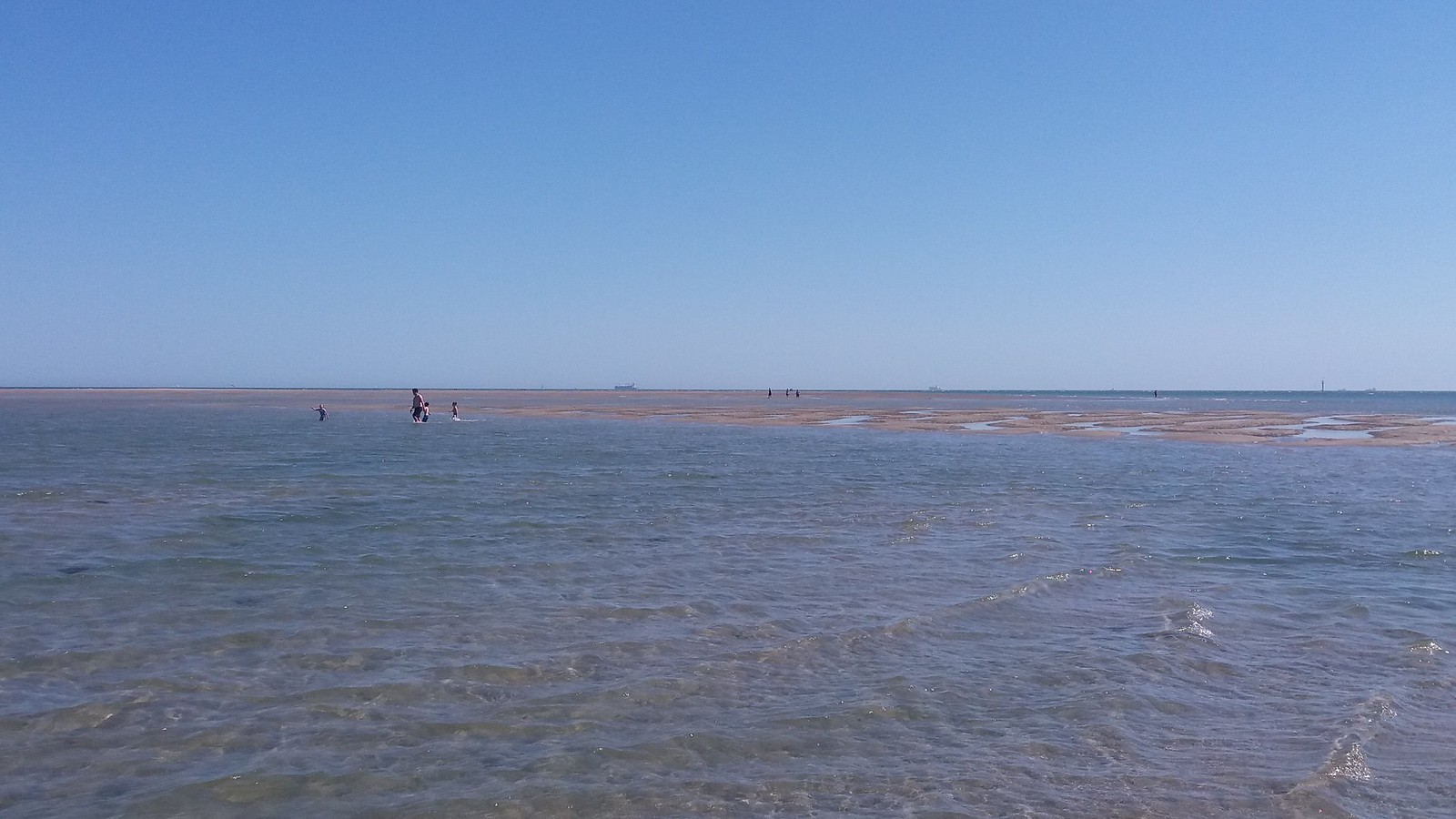 20160719_154639 East Winner sandbar at Gunner point around mid tide (near Ferry Inn, Hayling Golf Club)