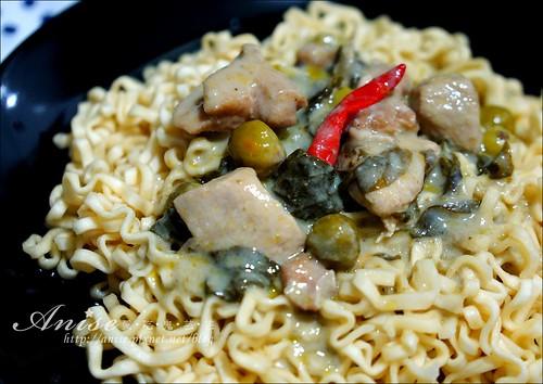 小廚師綠咖哩雞榨菜肉絲麵_025