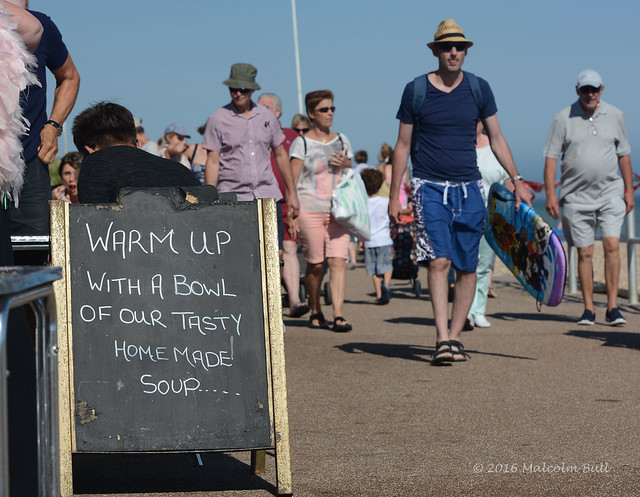 Too Hot for Soup- Bexhill (831)
