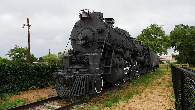 Santa Fe 5030 Steam Locomotive