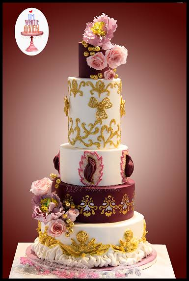 Cake by Dr. Gauri Kekre of Li'l White Oven
