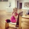 #ArtistAtWork. #InaraAdventures #DallasMuseumOfArt #FamilyFun Repost from @seejaynego