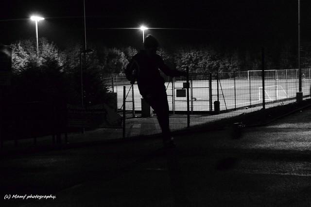The footballer.