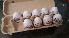 How to hide Kinder Surprise chocolate eggs from a 4yo Boy