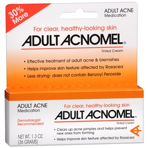 Acnomel Adult Acne Medication Tinted Cream