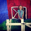 """Addison did such a great job as """"Fern"""" in her class' version of Charlotte's Web!"""