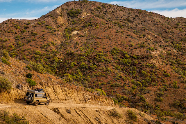 Off Road in Baja
